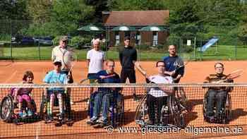 Rollstuhltennis in Laubach - Gießener Allgemeine