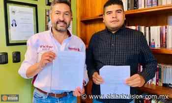 La Coalición de Migrantes de Michoacán, suscribe compromiso, con Víctor Báez Ceja - El Diario Visión