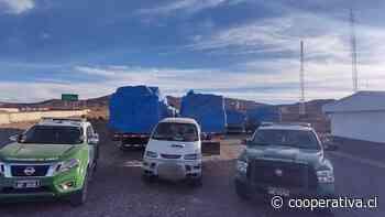 Descubren caravana de camiones con ropa de contrabando en Tarapacá - Cooperativa.cl