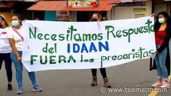 Moradores de La Chorrera protestan contra invasores de terrenos, Miviot los reubicará - Telemetro