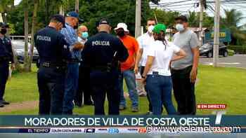Moradores de varias barriadas de La Chorrera protestan por invasión de terrenos - Telemetro