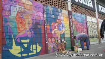 Denuncian que borraron un mural homenaje a los hinchas de Argentinos Juniors desaparecidos - Pura Ciudad