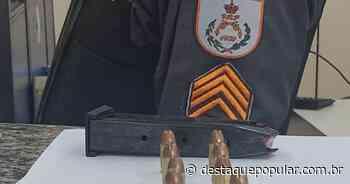 Polícia Militar apreende carregador de arma e munições em Quatis - Destaque Popular