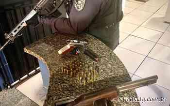 Itaocara: Dois adolescentes apreendidos com armas e munições - Jornal O Dia