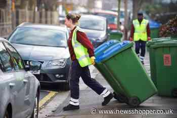 Bexley 'summer stink' warning over Serco rubbish strikes