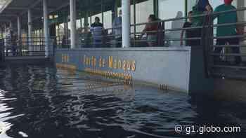 Rio Negro sobe e Manaus registra a maior cheia da história - G1