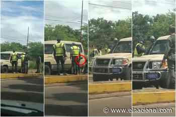 Arma en mano, gritos y forcejeos: la discusión entre militares y policías en Puerto Ayacucho - El Nacional