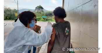 Combate à pandemia: Em Imbituba, portuários, bombeiros civis e moradores de rua são vacinados contra a Covid-19 - Portal AHora