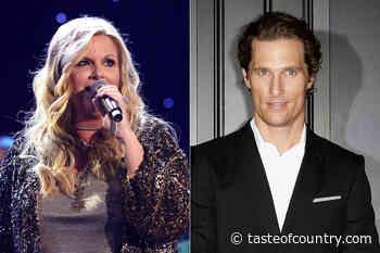 WATCH: Matthew McConaughey Credits Trisha Yearwood for Big Break - Taste of Country