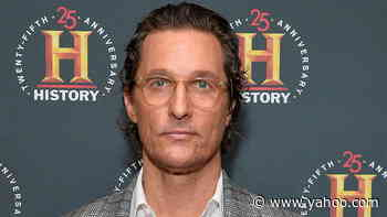 """Matthew McConaughey Wants to Make a """"Long-Term Difference"""" If He Runs for Governor of Texas   THR News - Yahoo Lifestyle"""