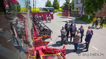 Belarus' Gomel Oblast, Russia's Omsk Oblast seek closer cooperation in agriculture - Belarus News (BelTA)