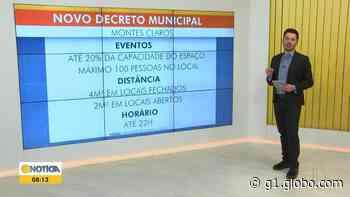 Prefeitura de Montes Claros flexibiliza o funcionamento de casas de festas e eventos - G1