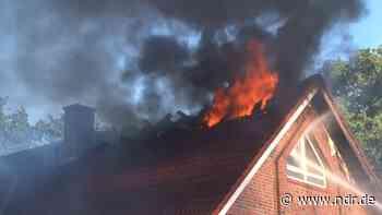 Haus in Wietmarschen nach Brand unbewohnbar - NDR.de