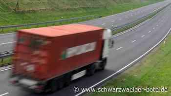 A 81 bei Empfingen - Geplatzter Reifen löst mehrere Unfälle aus - Schwarzwälder Bote