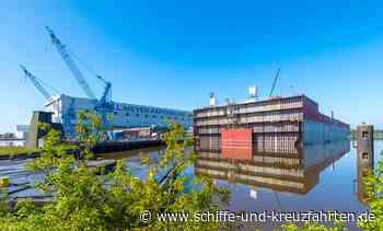 Maschinenraummodul der im Bau befindlichen P&O Arvia in Papenburg angekommen - Schiffe und Kreuzfahrten - Das Kreuzfahrtmagazin
