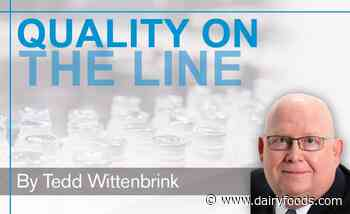 Keep an eye on dairy product quality