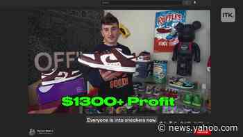 Harrison Nevel is the sneakerhead and YouTuber known for his massive collection of shoes - Yahoo News