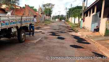 Bairro Rio Verde recebe melhorias em Itaporanga - Jornal Sudoeste Paulista