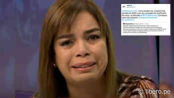 "ONPE le responde tajante a Milagros Leiva: ""Corrobora antes de compartir"" - Libero.pe"