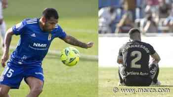 Diegui Johannesson y Nahuel Leiva se despiden del Oviedo - MARCA.com