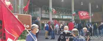 Agrate Brianza: sindacati e politici in piazza per protestare contro i licenziamenti Star - Il Cittadino di Monza e Brianza