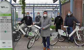 Neue E-Bike-Station am Haltepunkt Meckenheim Industriepark - Blick aktuell
