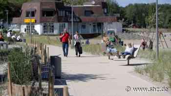 Strandpromenade in Harrislee: Ende von Maskenpflicht und Alkoholverbot in Wassersleben | shz.de - shz.de