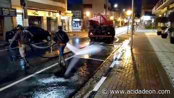 Serra Negra vai higienizar ruas e praças todas as noites no feriado - ACidade ON
