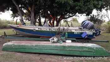 PMA das Várzeas do Rio Ivinhema apreende embarcação e petrechos - Nova News
