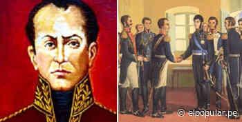 José Faustino Sánchez Carrión, el liberal que convenció a San Martín para que el Perú sea una república - ElPopular.pe