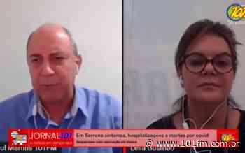 Em Serrana, sintomas, hospitalizações e mortes por Covid-19 despencam com vacinação em massa - Rádio 101FM