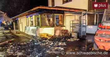 Feuer in Firma in Oberessendorf   schwäbische - Schwäbische