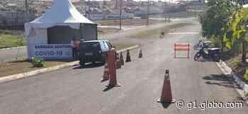 Ilha Solteira instala barreiras sanitárias para evitar aglomerações no feriado prolongado - G1