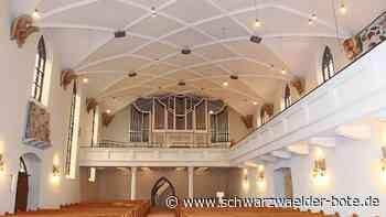 Stadtkirche bald wieder geöffnet - Festgottesdienst am 13. Juni - Schwarzwälder Bote