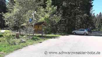 Landratsamt Freudenstadt warnt - Knöllchen für verbotene Parkerei im Wald - Schwarzwälder Bote