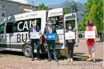 A Merano arriva il Callbus, il bus a chiamata gratuito - La Voce di Bolzano