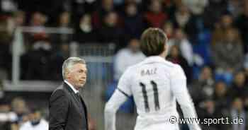 So plant Carlo Ancelotti mit Gareth Bale bei seiner Real Madrid Rückkehr - SPORT1
