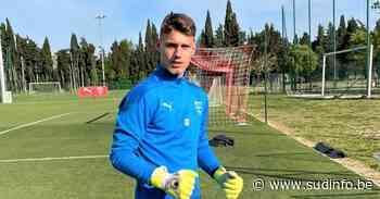 Aubange: gardien de but à Nimes, Timothy Martin (ex-Virton) découvre la sélection U21 du Luxembourg - Sudinfo.be