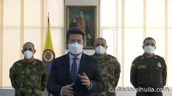 Ministro de Defensa preside Consejo de Seguridad en Pitalito - Diario del Huila
