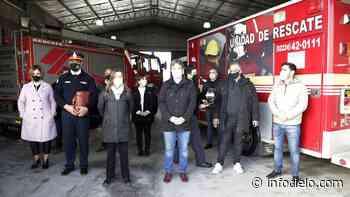 Almirante Brown: inauguraron un destacamento de bomberos - Infocielo