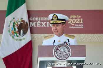 El sector marítimo significa una valiosa oportunidad de impulso para México: Almirante Ojeda Durán - Capital México