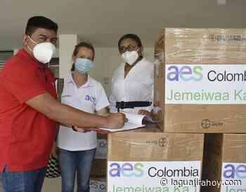 AES Colombia, entrega 1.500 kits de bioseguridad al municipio de Uribia - La Guajira Hoy.com