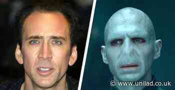 Nicolas Cage As Voldemort Is Giving Ralph Fiennes A Run For His Money - UNILAD