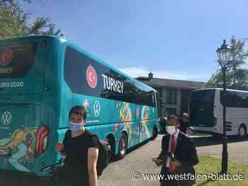 Die türkische Nationalmannschaft ist da - Westfalen-Blatt
