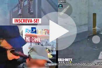 Jovem é assaltado em Vinhedo durante transmissão ao vivo na internet - Jornal de Vinhedo