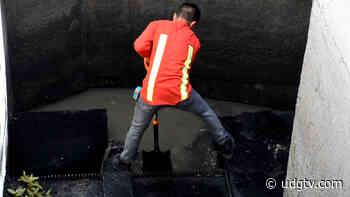 Colapsa drenaje en calle Morelos de Jocotepec - UDG TV - UDG TV