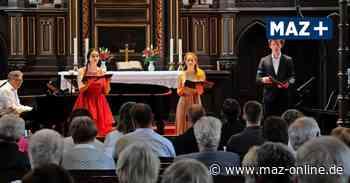 Lotte-Lehmann-Konzerte in der Prignitz: Zum Gastspiel nach Wittstock - Märkische Allgemeine Zeitung