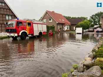Starkregen in Bad Zwischenahn: Feuerwehr im Dauereinsatz gegen Wassermassen - Nordwest-Zeitung