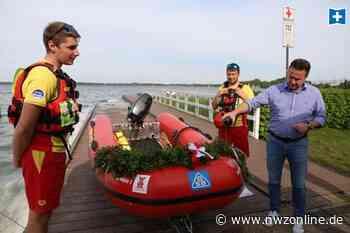 Bootstaufe bei der DLRG Bad Zwischenahn: Rasante Rettung mit Rote Mühle 1 - Nordwest-Zeitung
