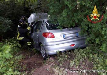 Scontro tra due auto a Laveno Mombello: due feriti - - varesenews.it